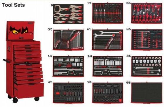 Kit de ferramentas com 530 peças