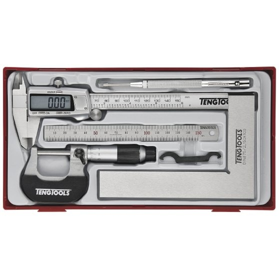 Conjunto de 5 peças de ferramentas de medição