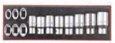 Conjunto de 14 peças de caixas de quadra regulares AF 12 pontos 3/4