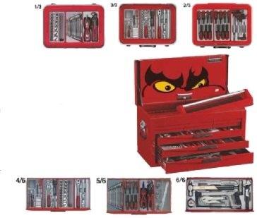 Kit de ferramentas com 140 peças