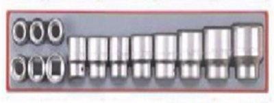 Conjunto de 14 peças de caixas de quadra métricas de 6 pontos 3/4