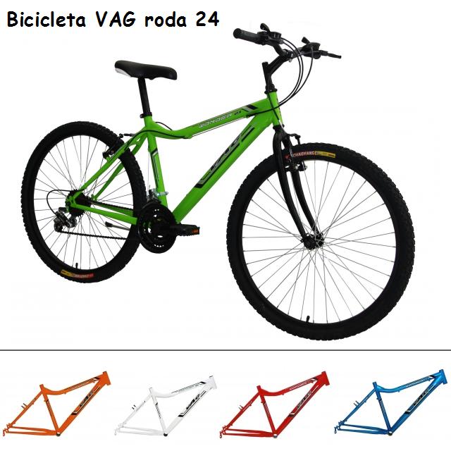 BICICLETA VAG/DS RODA 24