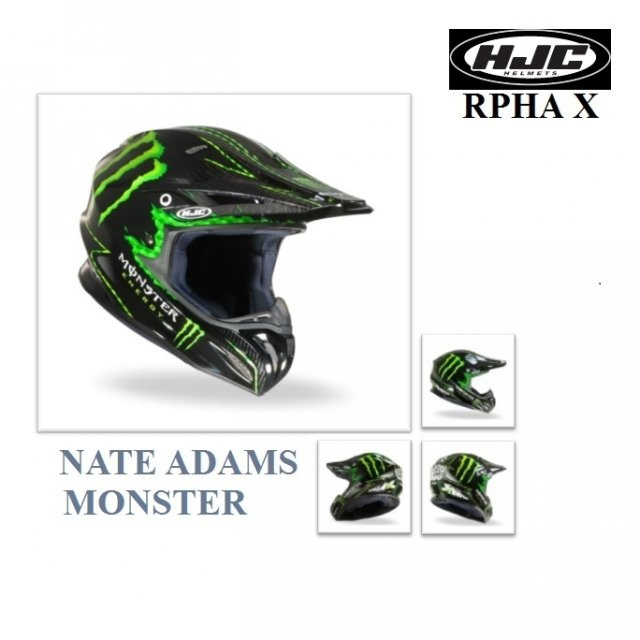 HJC RPHA X NATE ADAMS MONSTER