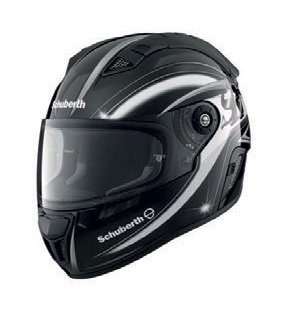 SCHUBERTH SR 1 BLADE SILVER / RED