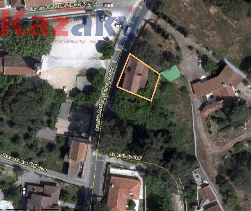 LOTE P/CONSTRUÇÃO C/ 506M2, FRENTE À IGREJA DE ALFERRAREDE