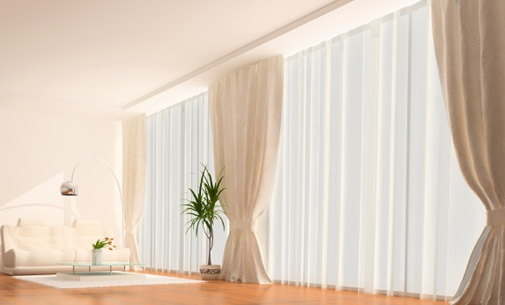 Desmontagem, limpeza e montagem de cortinados de qualquer dimensão